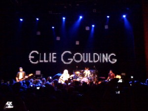 Gig : Ellie Goulding at the Shepherds Bush Empire
