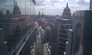 Sunny view of London